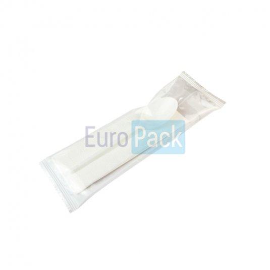 Ложка Компакт 165 в упаковке с салфеткой цвета в ассортименте