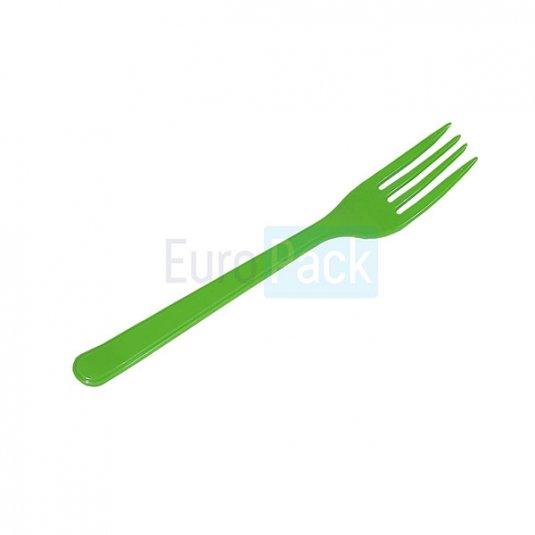 Вилка Люкс 180 салатовая