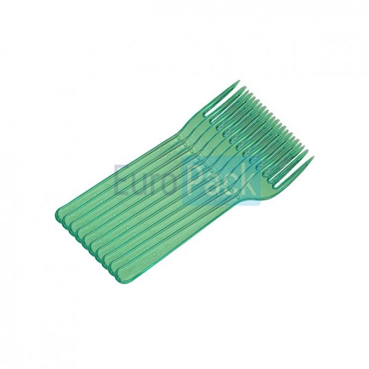 Вилка Люкс 180 зелёная прозрачная