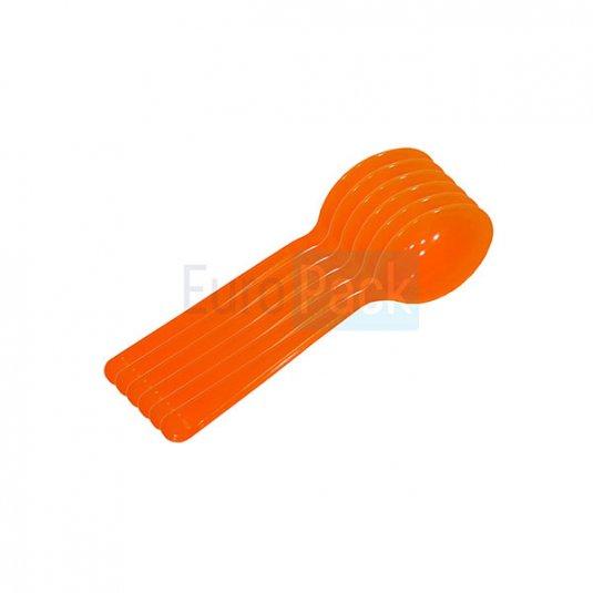 Ложка Люкс 180 оранжевая